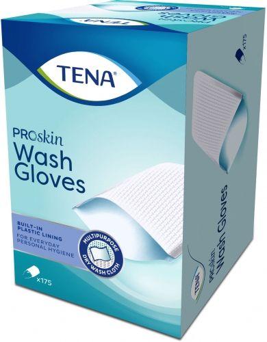 TENA Gants de toilette Plastifiés